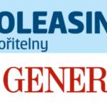 loga SAutoleasing České spořitelny a Pojisteni Generali