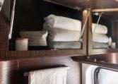 Karmann Davis 590 úložný prostor toaleta