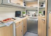 Karmann Dexter 550 kuchyně