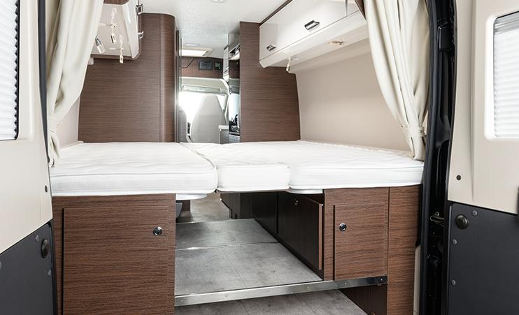 Karmann Davis 620 úložný prostor