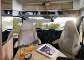 Karmann Dexter 570 posezení