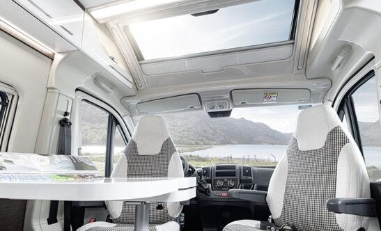 km Lifestyle Package panoramatické okno ve střeše